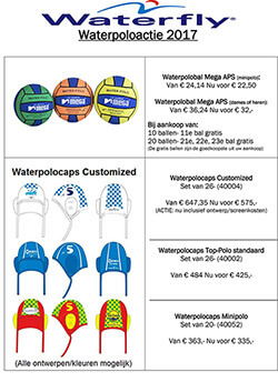Waterpolo acties
